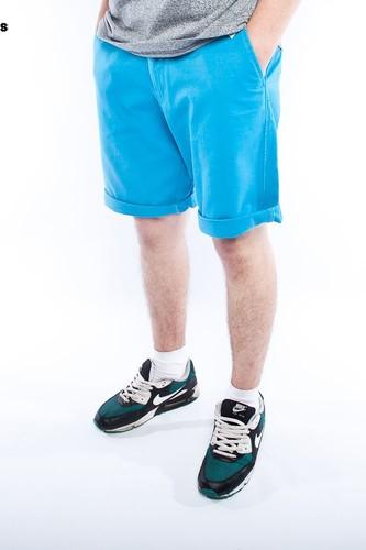 Шорты URBAN CLASSICS Chino Shorts (Turquoise, 28)