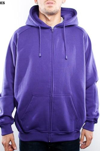 Толстовка URBAN CLASSICS Zip Hoody (Purple, XS)