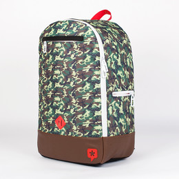 Рюкзак TRUESPIN Duckdown Small Camo/Red фото