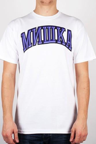 Футболка MISHKA Cyrillic Varsity FL131104 (White, 2XL)