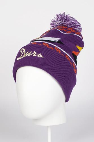 Шапка с помпоном ЗАПОРОЖЕЦ Дичь 2 (Purple)