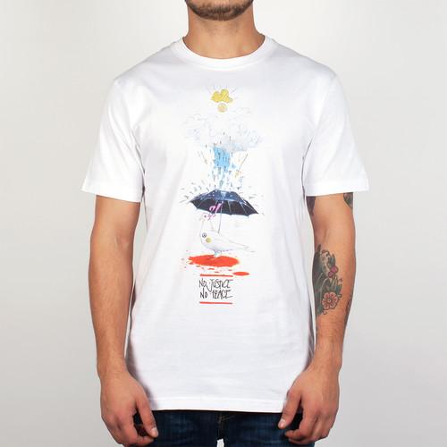 Футболка PYROMANIAC Peace (White, L) футболка pyromaniac odb white xl