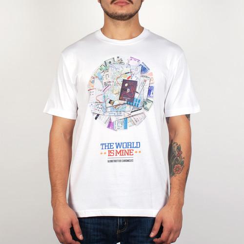 Футболка PYROMANIAC The World Is Mine (White, XL) футболка pyromaniac odb white xl