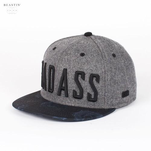 купить Бейсболка BEASTIN Badass Snapback Cap (Grey-Black-Roses, O/S) по цене 880 рублей