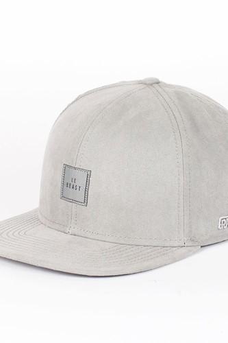 Бейсболка BEASTIN Le Beast Snapback Cap (All-Grey-Suede, O/S)