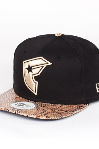 Бейсболка FAMOUS Snake New Era Snap (Black-Snake-Tan, O/S)