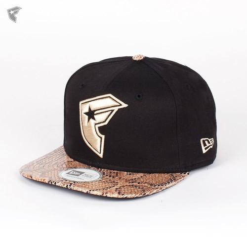 купить Бейсболка FAMOUS Snake New Era Snap (Black-Snake-Tan, O/S) по цене 1100 рублей