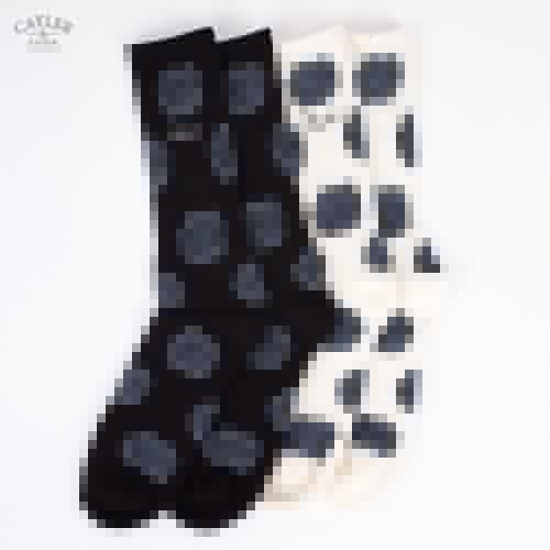 купить Носки BEASTIN Black Roses Socks Double (Black-Grey-Of-White-Black, M) по цене 396 рублей