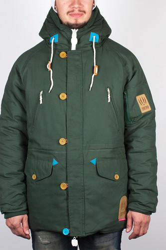 Куртка TRUESPIN Alaska FW14 (Hunter Green/Leopard, 2XL) цена