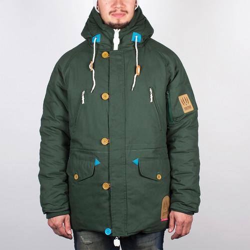 Куртка TRUESPIN Alaska FW14 (Hunter Green/Leopard, 2XL) цена и фото