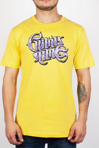 Футболка PYROMANIAC Crime Time (Yellow, XL)