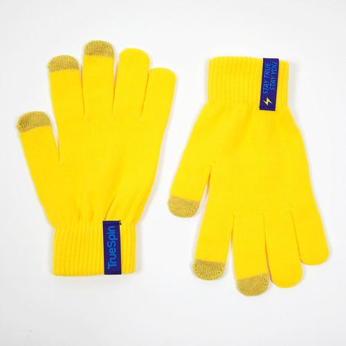 Перчатки TRUESPIN Touchgloves (Yellow, O/S)