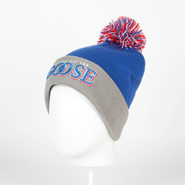 Шапка CAYLER & SONS Get Loose Pom Pom Beanie Blue/Grey/Red фото