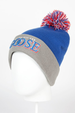 Шапка CAYLER & SONS Get Loose Pom Pom Beanie Blue/Grey/Red