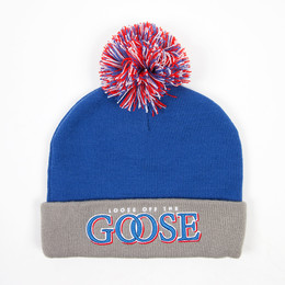 Шапка CAYLER & SONS Get Loose Pom Pom Beanie Blue/Grey/Red фото 2