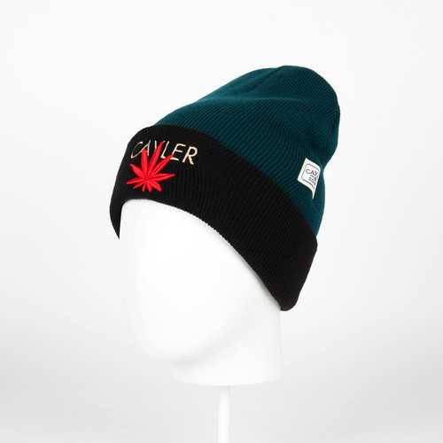 Шапка CAYLER & SONS Cayler Beanie (Forrest Green/Red/Gold) шапка cayler
