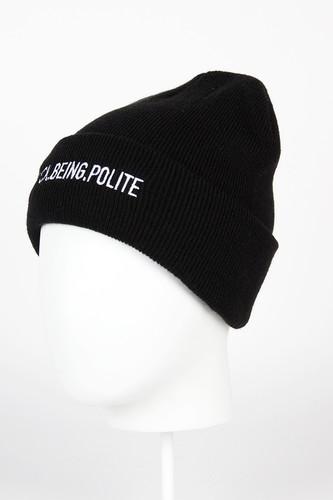 Шапка CAYLER & SONS Never Polite Beanie (Black/White) шапка cayler