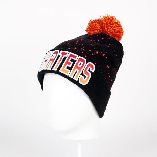 Шапка CAYLER & SONS Hi Haters Pom Pom Beanie (Black/Fading Red) шапка truespin weedy pom beanie red black