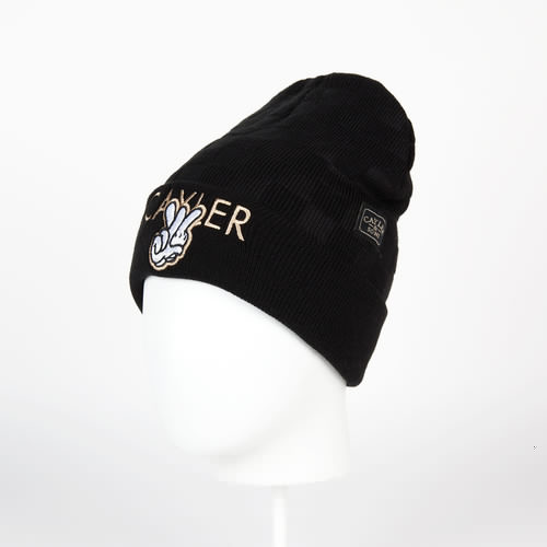 Шапка CAYLER & SONS Checkers Beanie (Black/Grey/Gold) шапка cayler