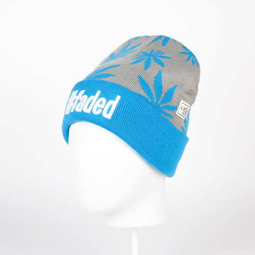 Шапка CAYLER & SONS #faded Beanie (Grey/Blue/White)
