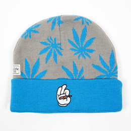 Шапка CAYLER & SONS #faded Beanie Grey/Blue/White фото 2