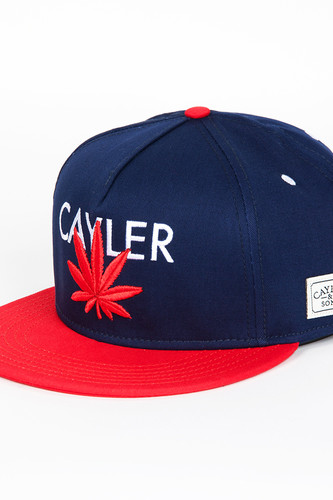 Бейсболка CAYLER & SONS Cayler Cap (Deep Navy/Red/White, O/S) майка cayler