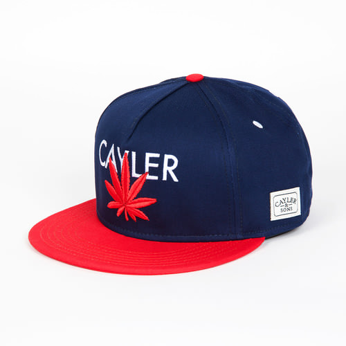 Бейсболка CAYLER & SONS Cayler Cap (Deep Navy/Red/White, O/S) бейсболка cayler