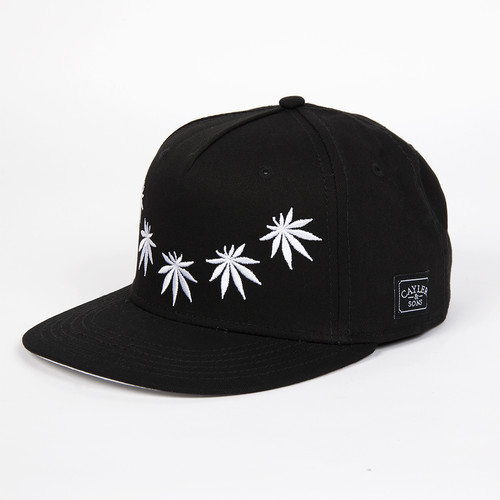 Бейсболка CAYLER & SONS Fuck Yeah Cap (Black/White, O/S)