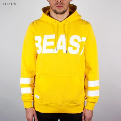 цены Толстовка BEASTIN Above All Hoody (Yellow-White, XL)