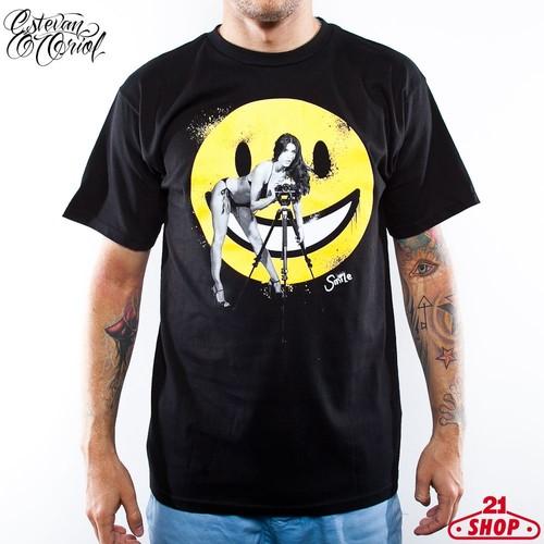 футболка estevan oriol america s game charcoal 3xl Футболка ESTEVAN ORIOL Smile (Black, L)