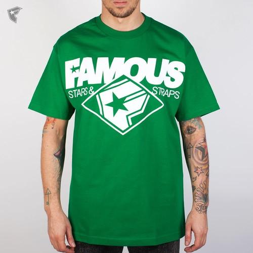 купить Футболка FAMOUS Change Up (Kelly-Green-White, M) по цене 495 рублей