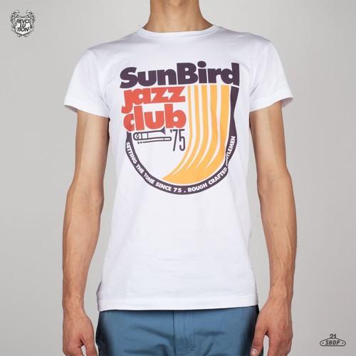 Футболка REVOLUTION Ace Tee Jazz (White, XL) футболка мужская mustang photoprint tee цвет белый 1007060 2020 размер xl 52 54