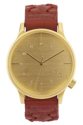 Часы KOMONO Winston Woven (Burgundy) gardman термометр 22 4 см 94816 gardman