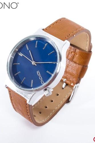 цена на Часы KOMONO Wizard (Silver-Blue-Cogna)