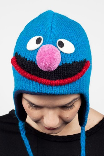 Шапка KNITWITS Grover (Blue) шапка knitwits elmo red