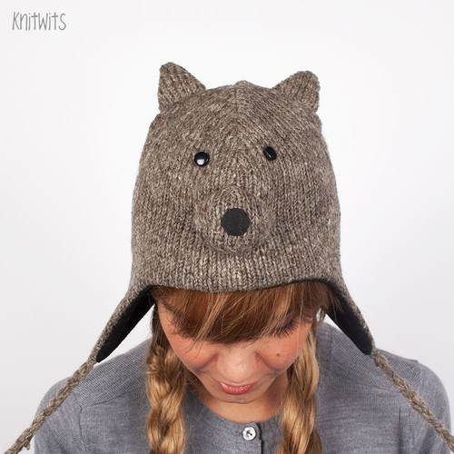 Шапка KNITWITS Squirrel (Grey) цена