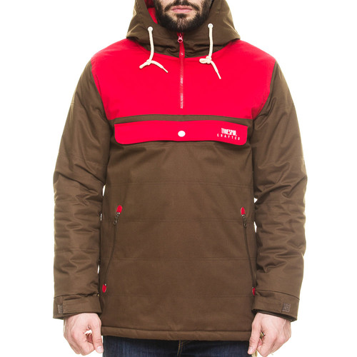 Анорак TRUESPIN Cloud Jacket (Coffee/Red, 2XL)