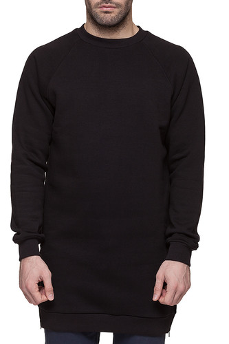 Толстовка SKILLS Long Crewneck m2 (Black, XL)