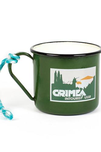 Кружка ЗАПОРОЖЕЦ Крым (Зеленый)