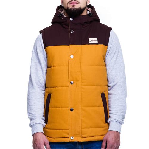 Жилет ЗАПОРОЖЕЦ Folk Vest (Brown, 2XL)