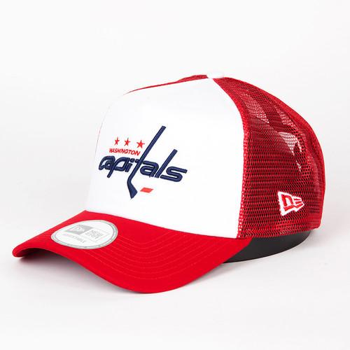 Бейсболка NEW ERA Hockey Trucker Wascap (Red, O/S) бейсболка new era hockey trucker torlea navy o s