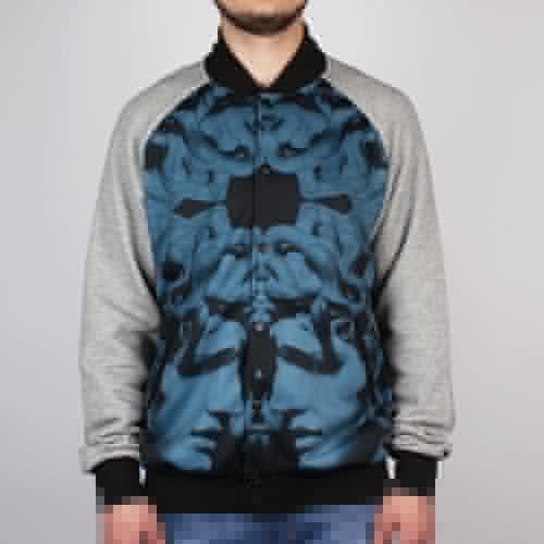 Куртка CROOKS & CASTLES Hellenist (Speckle-Grey, S) куртка crooks