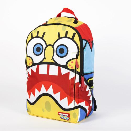 цена Рюкзак SPRAYGROUND x Spongebob Sharkpants Backpack (B144-Multicolor) онлайн в 2017 году