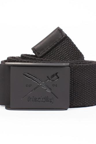 Ремень IRIEDAILY Flag Rubber Belt (Black-700, O/S)