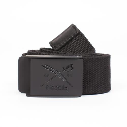 Ремень IRIEDAILY Flag Rubber Belt (Black-700, O/S) belt leather men s carpenter cr700 7 6 black black