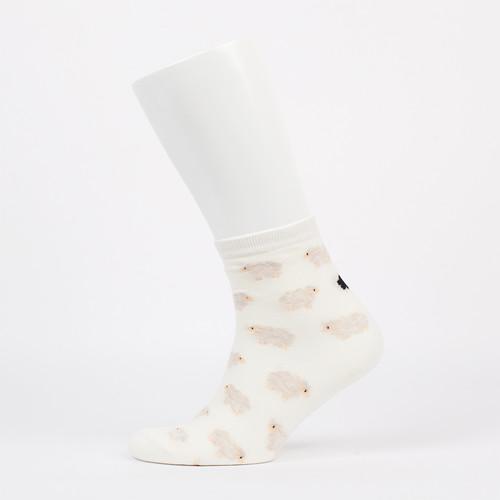 Носки KIKI W Sheep (White, O/S) носки skills long slim white o s