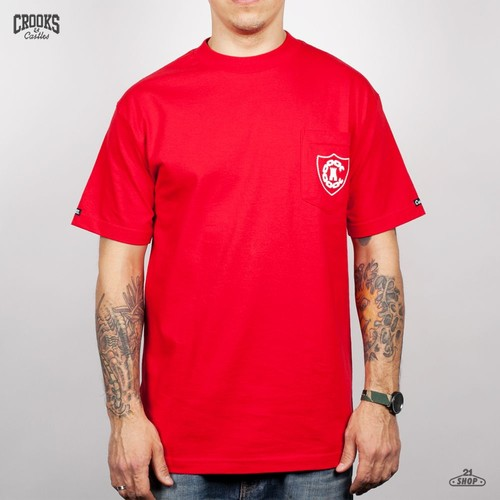 Футболка CROOKS & CASTLES I1260710 (True Red, S) футболка crooks