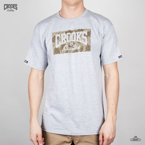 Футболка CROOKS & CASTLES I1310715-2 (Heather-Grey, 2XL) футболка crooks