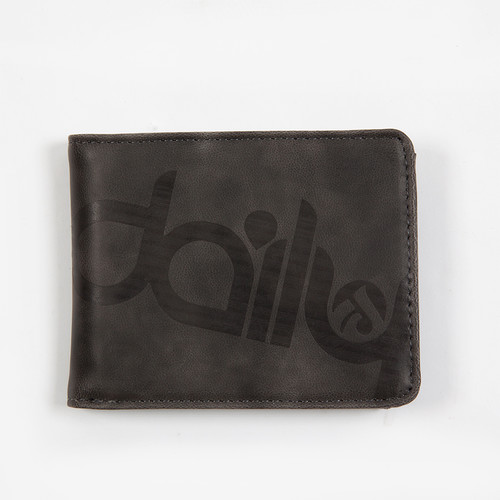 Кошелек IRIEDAILY Top 2 Punch Wallet (Anthracite-701)