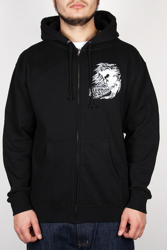 Толстовка MISHKA Osaka Simon Zip Up Hoodie (Black, L)